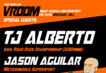 Vroom – Your Motorsport Fix, Episode 9 – Tj Alberto, Jason Aguilar