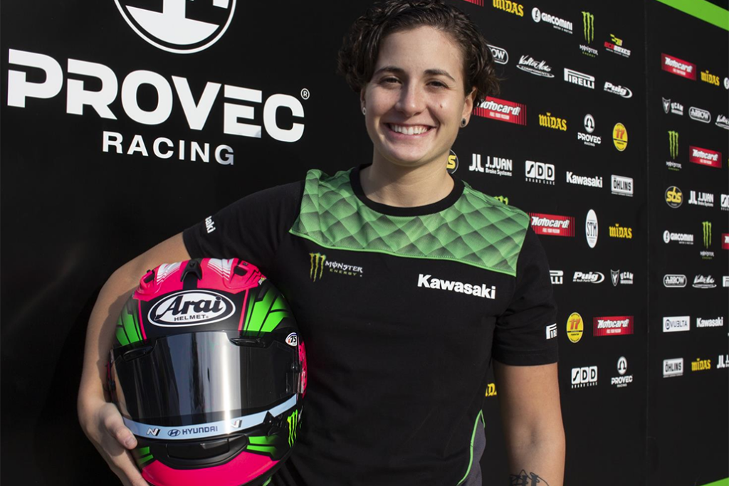 Ana Carrasco Confirmed As Provec And Kawasaki Rider For 2021 In Worldssp300 Championship 01