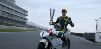 Bourne Wins The 2020 Honda British Talent Cup 01