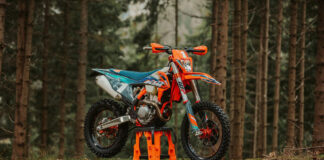 Ktm Lifts The Covers On The Special Ktm 350 Exc-f Wess Machine