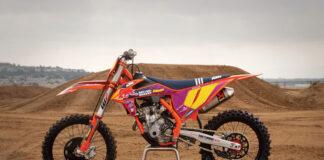 Ktm Unveils 2021 Ktm 250 Sx-f Troy Lee Designs Motocross Machine