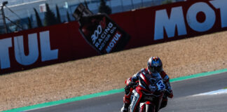Mv Agusta To The Top As De Rosa Goes Fastest In Worldssp On Friday At Estoril 01