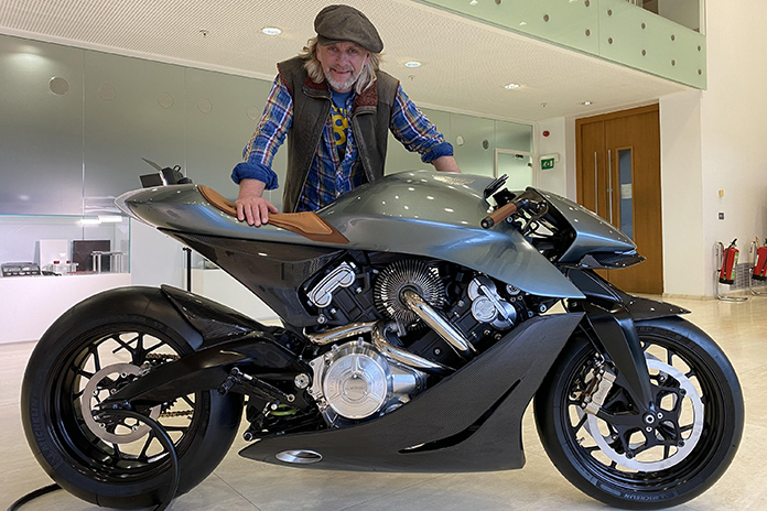 New Series Of The Motorbike Show In November 01