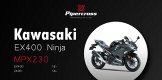 Pipercross Performance Air Filter Now Available For Kawasaki Ex400 Ninja / Z400 (18-)