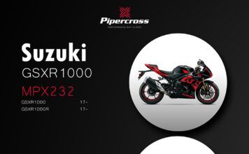 Pipercross Performance Air Filter Now Available For Suzuki Gsxr1000 / Gsxr1000r (2017-)