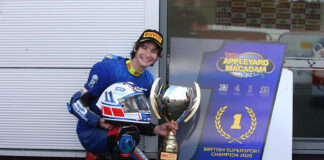 Rory Skinner Becomes Youngest British Supersport Champion Win Donington Park Win