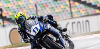 Smith Fastest After Wet Friday Worldssp Action At Magny-cours
