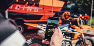 The Myktm App And Kit Offer Factory Bike Set-up At The Touch Of A Button