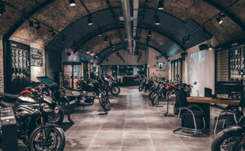 Triumph's Incredible New London Flagship Store