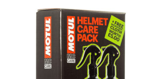 Motul Mc Care Helmet Visor Clean 01