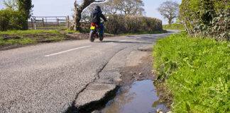 Riders Beware… Poor Road Surfaces Cause More Than 500 Road Accidents 01