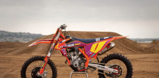 Ktm Unveils 2021 Ktm 250 Sx F Troy Lee Designs Motocross Machine 02