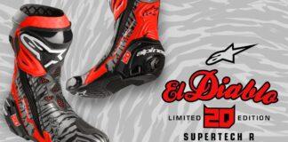 Alpinestars Presents Limited Edition 'el Diablo 20 Supertech R Race Replica Boots 01
