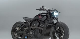 'road Runner' Custom Indian Scout Sixty By Motoshed