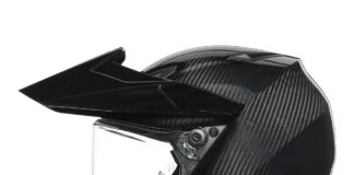 Agv Ax9 Glossy Carbon