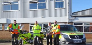 Avon Tyres To Support Leicestershire & Rutland Blood Bikes
