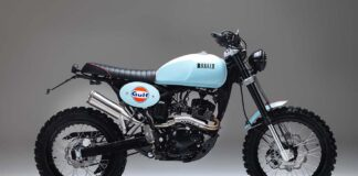 Bullit Motorcycles Unveil Special Limited Edition-livery-celebrating-new-partnership-with-gulf-oil