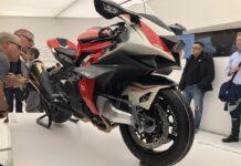 Bimota – Kawasaki Collaboration And Tesi H2 Concept Revealed At Eicma 2019