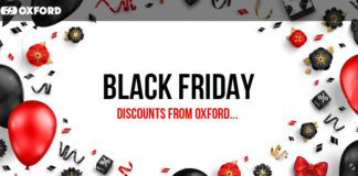 Black Friday Discounts From Oxford Products!
