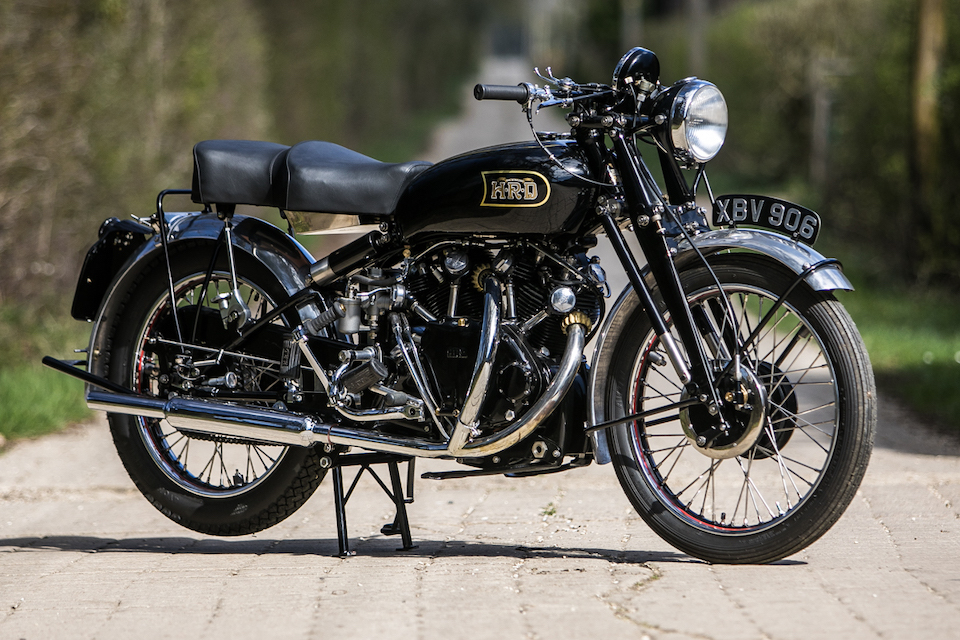 Completely Restored Vincent Black Shadow Series C To Get Pulses Racing At British Marques Sale