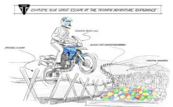 Complete The Great Escape At The Triumph Adventure Experience