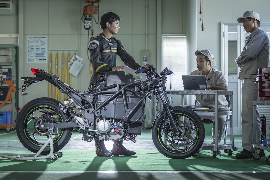 Electric Powered Bike Unveiled By Kawasaki