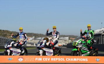 Final corner collisions conclude final Champions of 2020 FIM CEV Repsol season 01