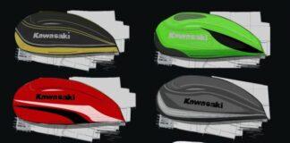 Kawasaki Z900rs Custom Paint Competition