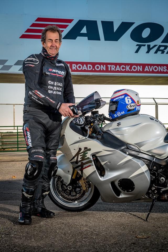 Meet Grand Prix Legend Steve Parrish With Avon Tyres 01
