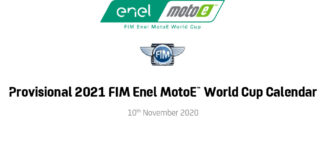 Provisional 2021 Fim Enel Motoe™ World Cup Calendar Announced