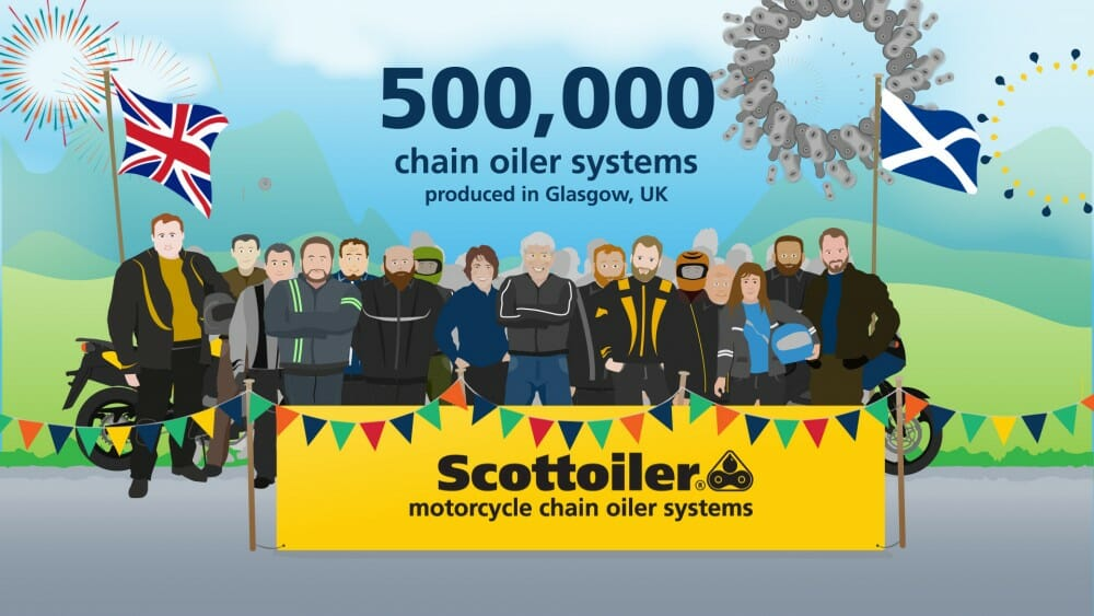Scottoiler Celebrate 500k Production Milestone