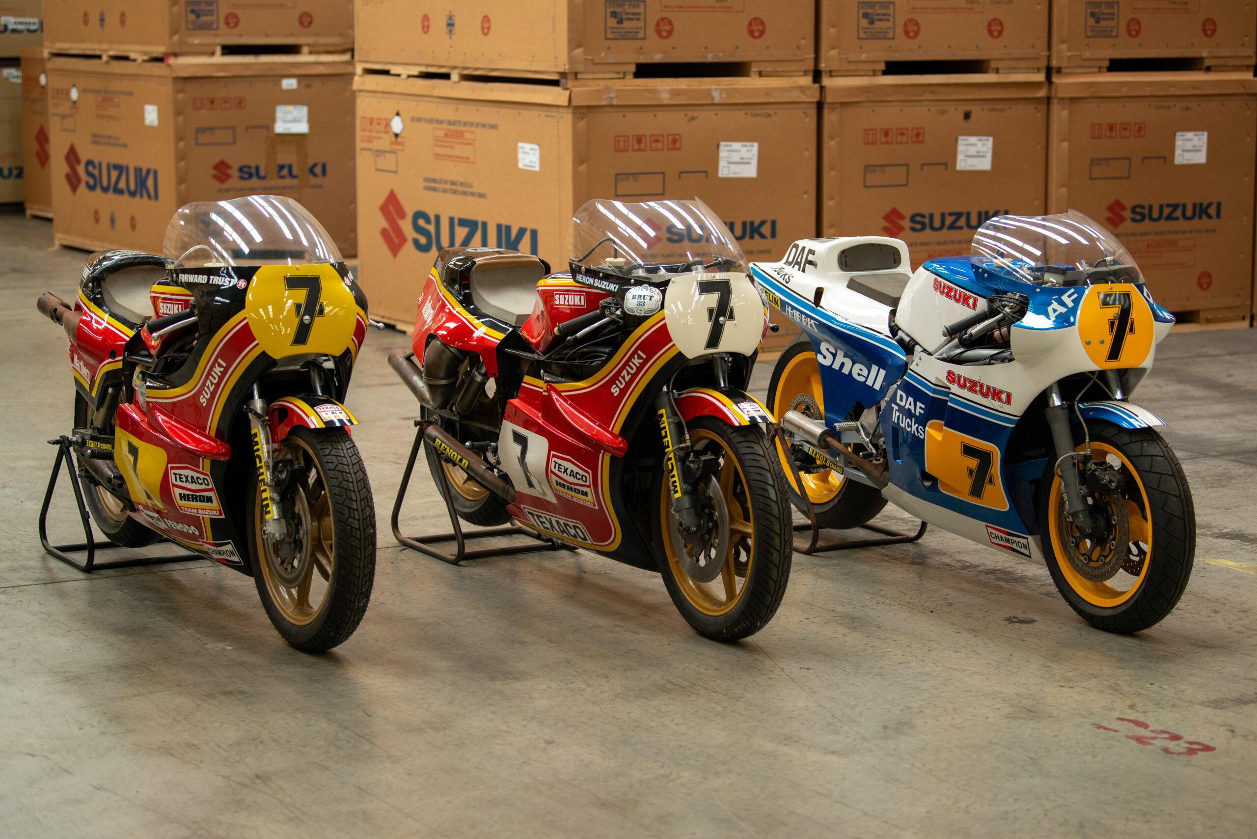Suzuki To Restore More Sheene Bikes At Motorcycle Live