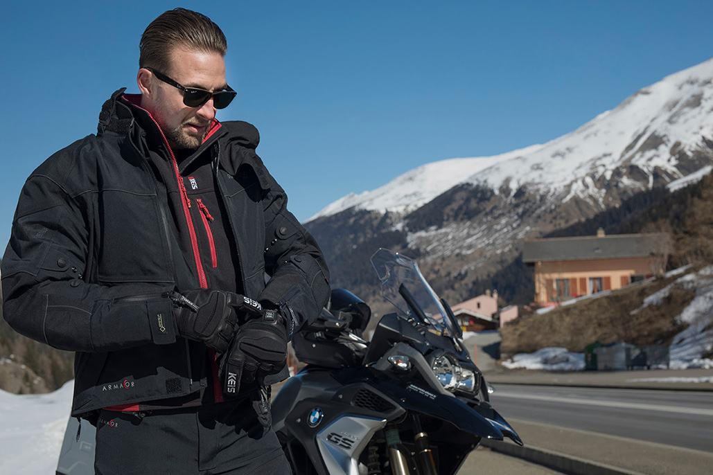 Two New Keis Heated Motorcycle Gloves