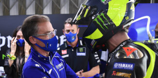 The Yamaha Factory Racing Motogp Team Thank Valentino Rossi For 15 Unforgettable Years
