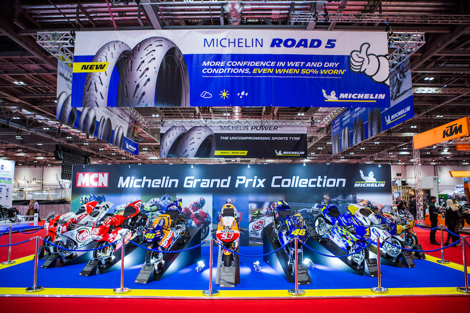 Thousands Of Bikers Flock To London As 2018 Motorcycle Show Kicks Off