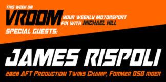 Vroom – Your Motorsport Fix, Episode 22 – James Rispoli, Trystan Finocchiaro