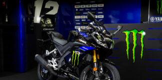 Yamaha Breathes Pure Monster Energy Yamaha Motogp Dna Into The Yzf-r125