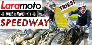 Laramoto Tries Speedway With The Ride & Skid It Team