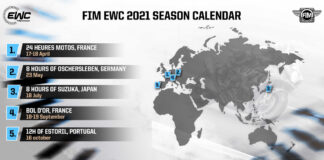 Five Races In 2021 Fim Ewc Calendar