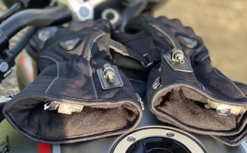 Keis Heated Motorcycle Gloves – G701 Bonded-textile Review