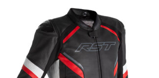 Rst Sabre Airbag Leather Jacket