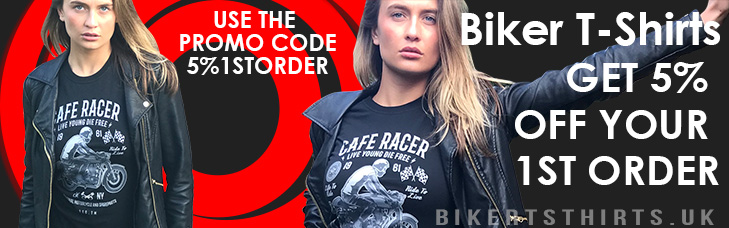 Biker T-shirts UK