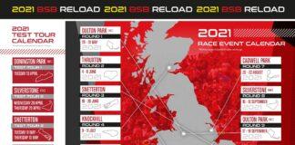 2021 British Superbike Calendar