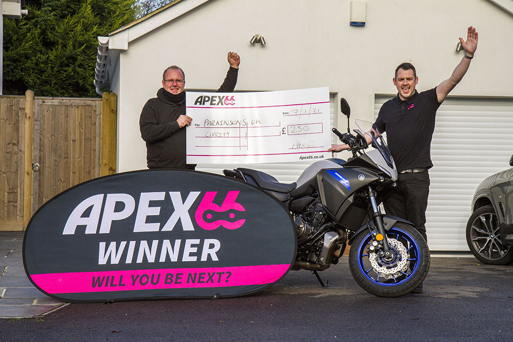 Motorcyclist From Bexhill-on-sea Wins A Brand-new Yamaha Tracer 700 For £8.95