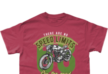 New Biker Products Added To Biker T-shirt Shop – No Speed Limits