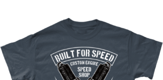 New Biker Products Added To Biker T-shirt Shop – Built For Speed