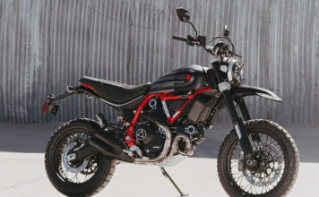 Desert Sled Fasthouse: A Limited And Numbered Edition Of Ducati Scrambler