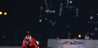 Miller Leads Ducati 1-2 On Day 1 In The Desert