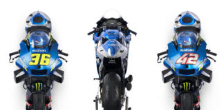 Suzuki's 2021 Motogp Line-up And Livery Unveiled