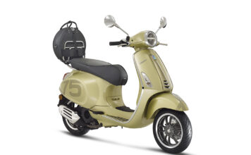Vespa Marks 75th Anniversary With A Special Series